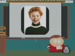 South Park-Cartman ginger-kids presentation